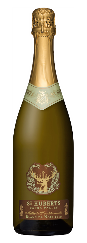Bottle of St Huberts Blanc de Noir 2010